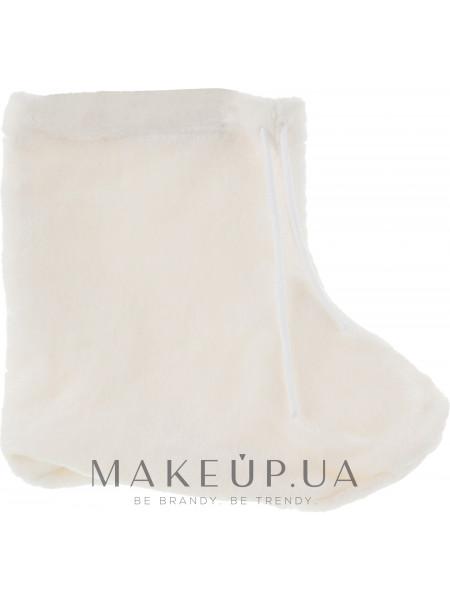 Носки для парафинотерапии махровые, молочные