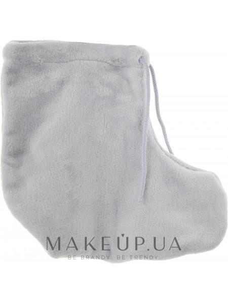 Носки для парафинотерапии махровые, серые