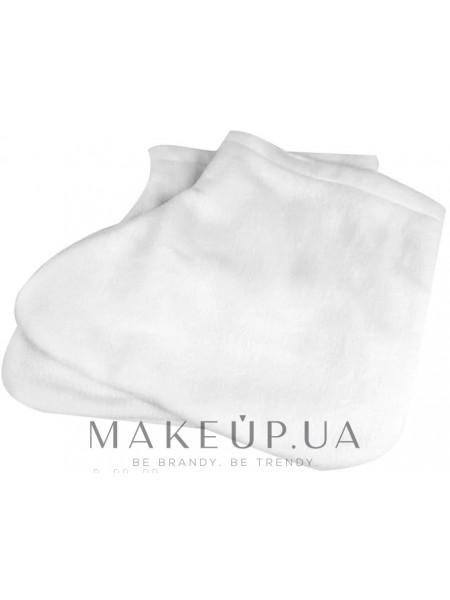 Носки для парафинотерапии махровые, белые