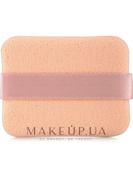 Спонж для макияжа прорезиненный с лентой
