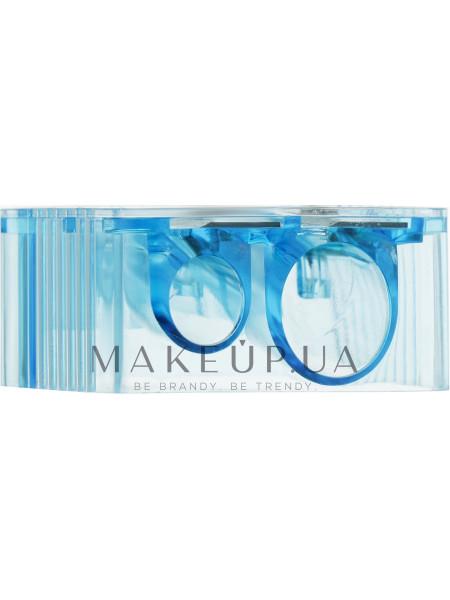 Точилка для карандашей, pf-50, прозрачно-синяя