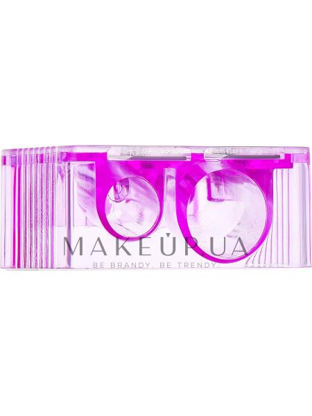 Точилка косметическая двойная 9199, фиолетовая