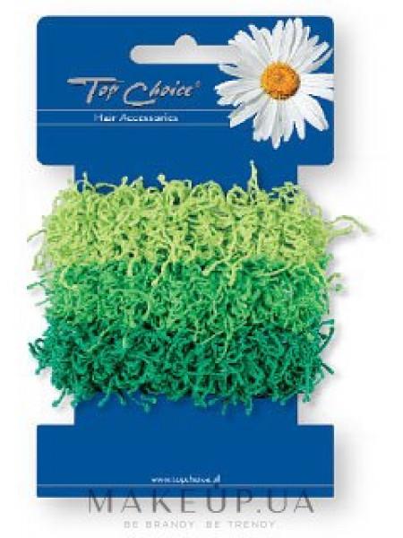 Резинки для волос 3 шт, зеленые