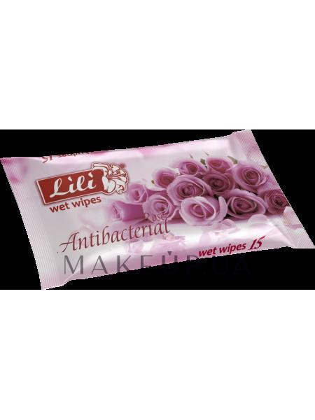 Влажные салфетки с ароматом розы
