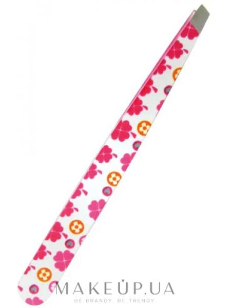 Пинцет для коррекции бровей qp 5404, цветочки