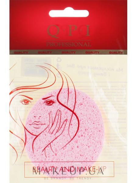 Спонж для умывания, qs-512, розовый