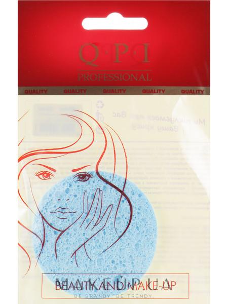 Спонж для умывания, qs-414, голубой