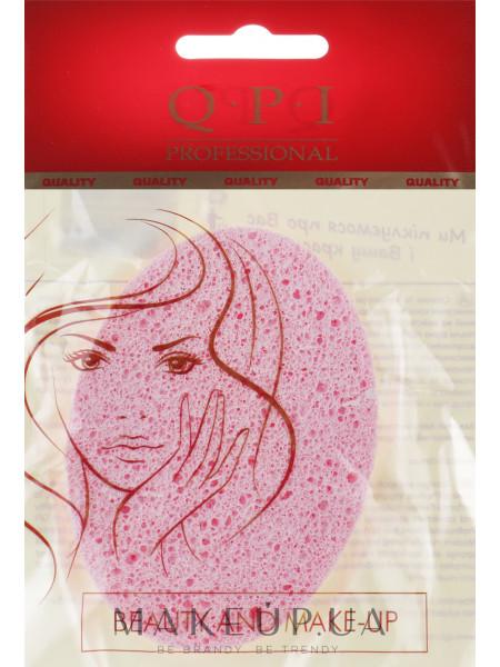 Спонж для умывания, qs-502, розовый