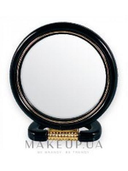 Зеркальце косметическое, 5022, черное