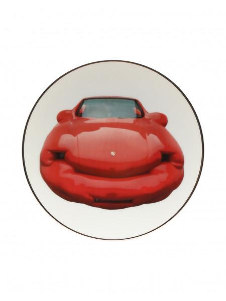 Fat convertible - limoges porcelain plate
