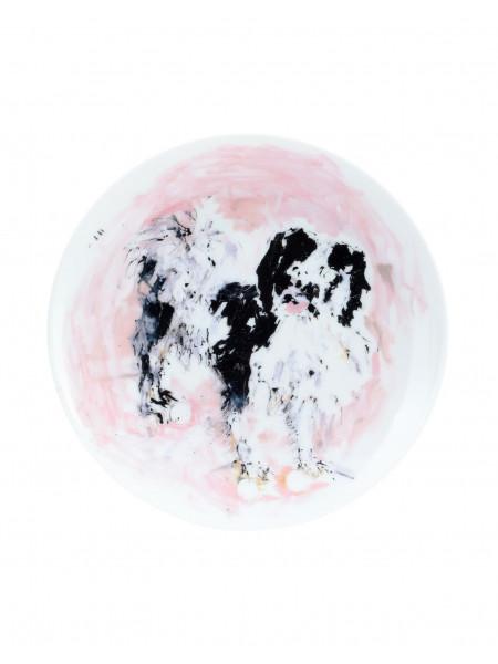 Tama - limoges porcelain plate