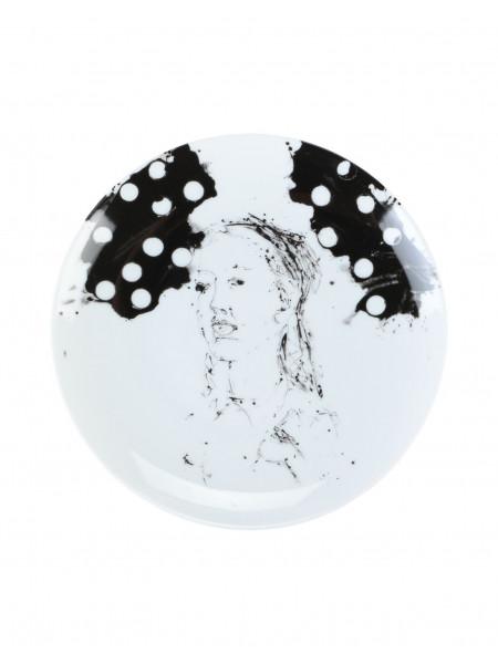 Clara - limoges porcelain plate