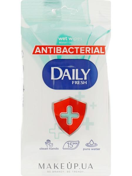 Антибактериальные влажные салфетки