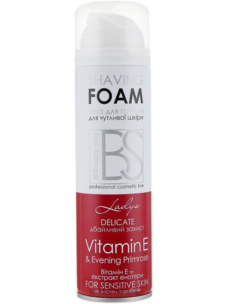 Пена для бритья с витамином е и экстрактом энотеры