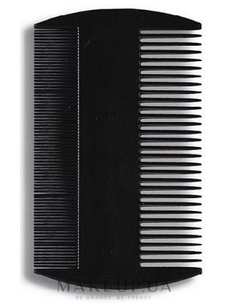 Гребень для волос 8,8 см, черный