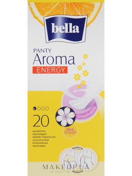 Прокладки panty aroma energy exotic fruits, 20 шт