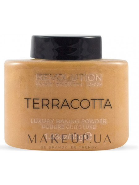 Makeup revolution terracotta luxury baking powder