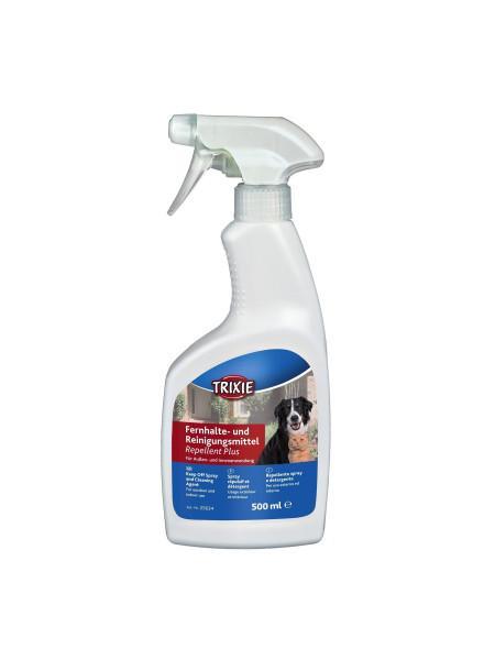 Спрей отпугиватель-очиститель для кошек и собак Trixie «Repellent Plus» 500 мл (для отпугивания от мест, объектов, зон) - dgs