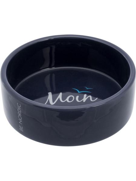 Миска керамическая Trixie «Be Nordic» 300 мл / 12 см (синяя) - cts