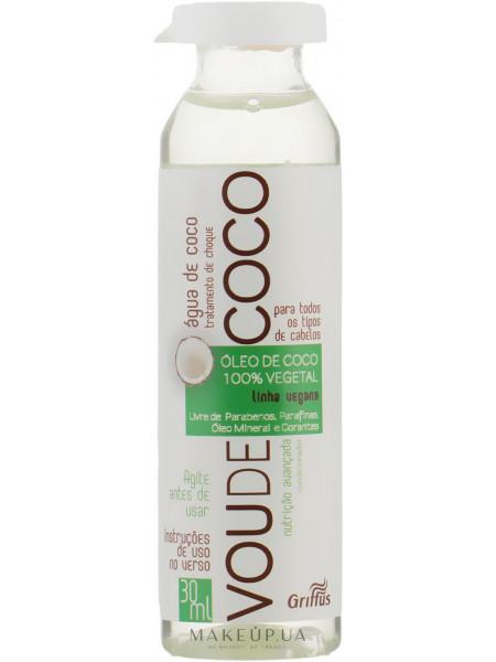 Ампула для ревитализации волос на основе кокосового масла
