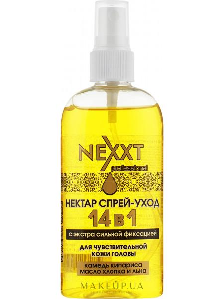 Aqua cosmetics нектар-спрей для ухода за волосами 14в1