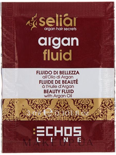Флюид для волос с аргановым маслом