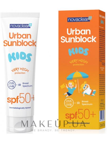 Солнцезащитный крем для для детей
