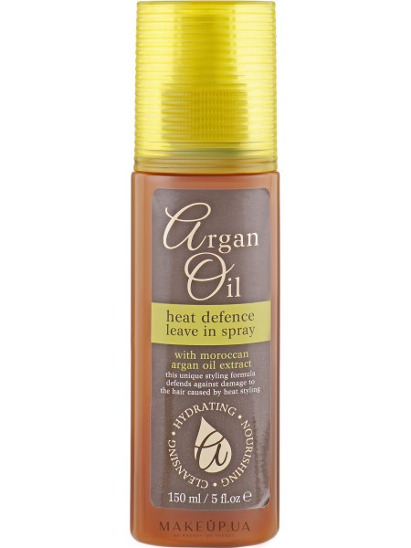 Термозащитный спрей для волос с аргановым маслом