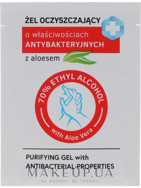 Очищающий гель с антибактериальными свойствами с алоэ