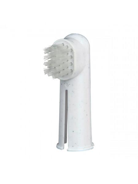 Зубная щётка-напалечник и массажная щётка-напалечник Trixie, набор - dgs