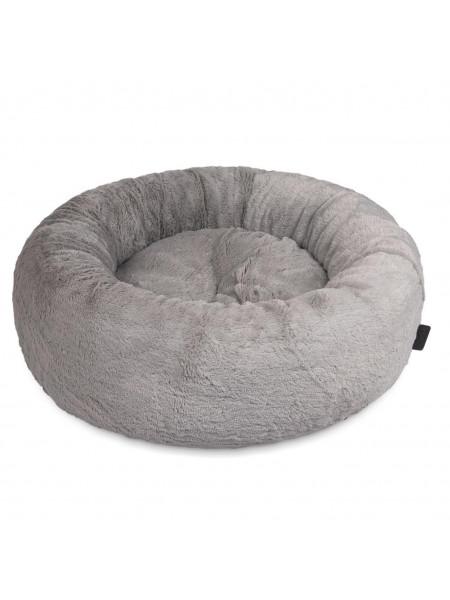 Лежак Pet Fashion «Soft» 48 см / 48 см / 17 см (серый) - cts
