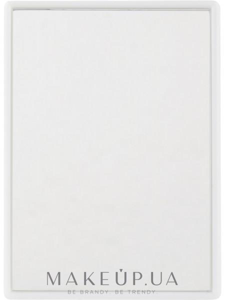 Зеркальце карманное 8.5х6см, белое