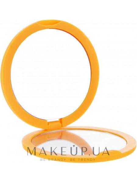 Зеркало косметическое круглое, 85543, оранжевое
