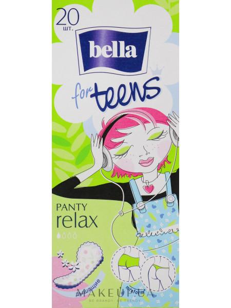 Прокладки teens relax deo, 20шт