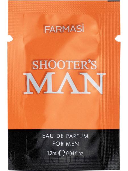 Farmasi shooter's man