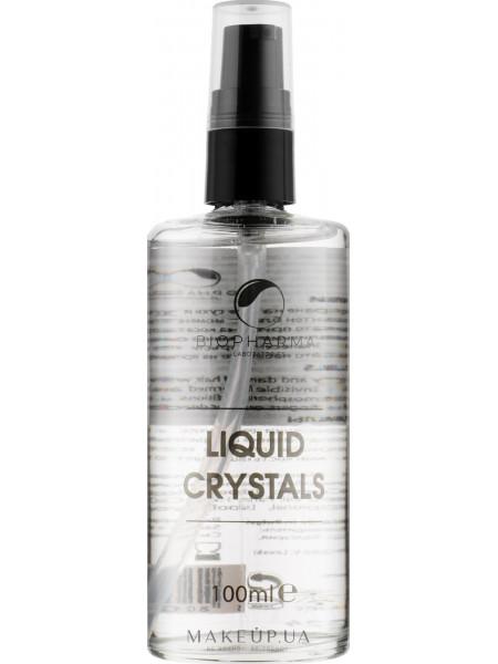 Жидкие кристаллы с льняным маслом и пантенолом с дозатором