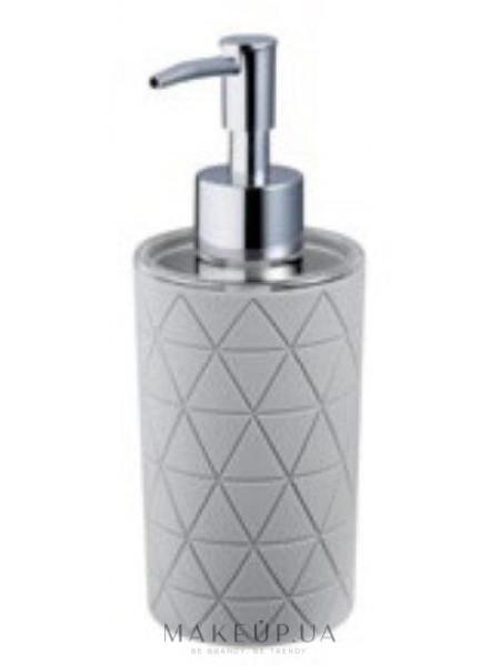 Дозатор для мыла, серый