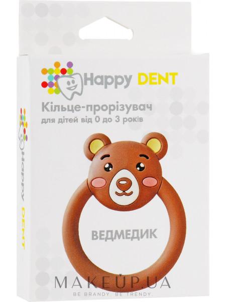 Прорезыватель для зубов, мишка