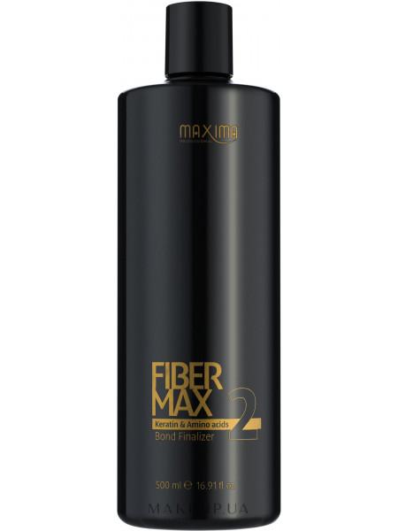 Сыворотка для волос для кератинового выравнивания волос этап 2 fiber max