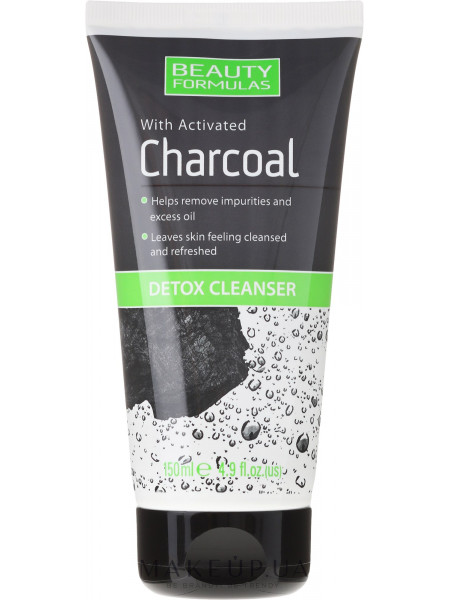 Средство для очистки кожи лица с углем