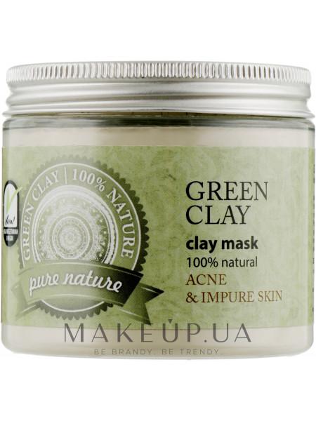 Зеленая косметическая глина