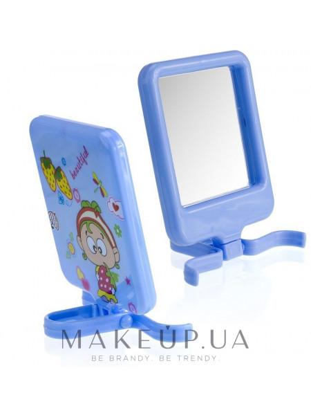 Компактное зеркало, cm-89, синее