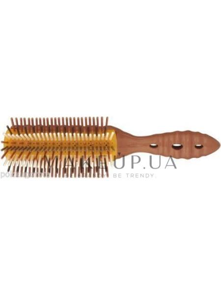 Круглая щетка-брашинг, 227 мм, коричневая