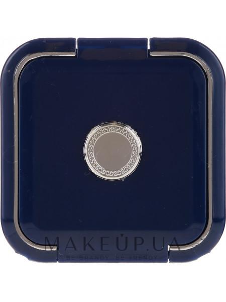 Зеркальце косметическое двухстороннее 5541, синее