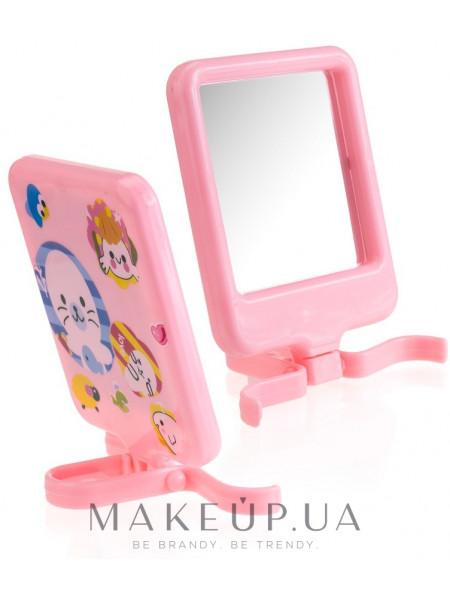 Компактное зеркало, cm-89, розовое