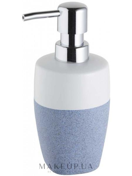 Дозатор для мыла, бело-голубой