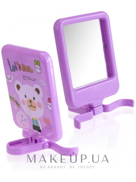 Компактное зеркало, cm-89, фиолетовое