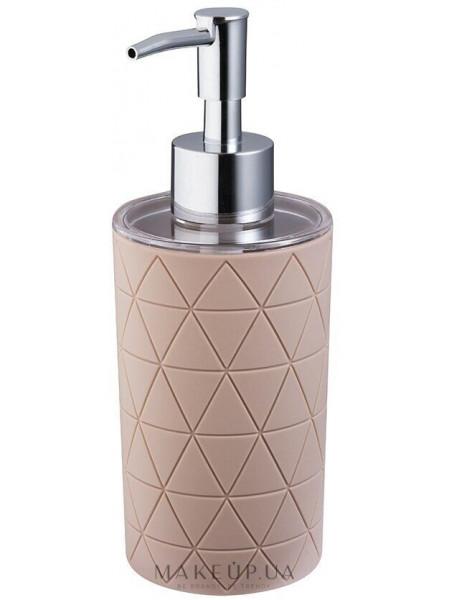Дозатор для мыла, бежево-коричневый
