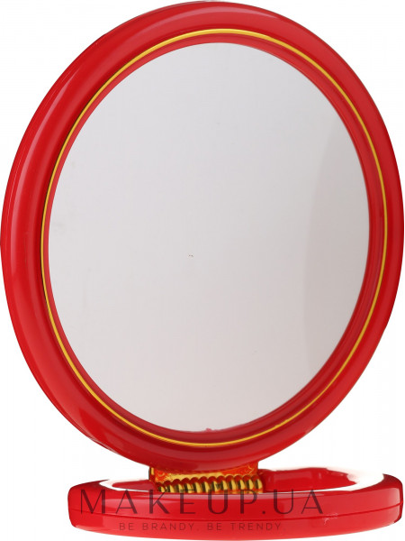 Зеркальце косметическое, 5046, красное
