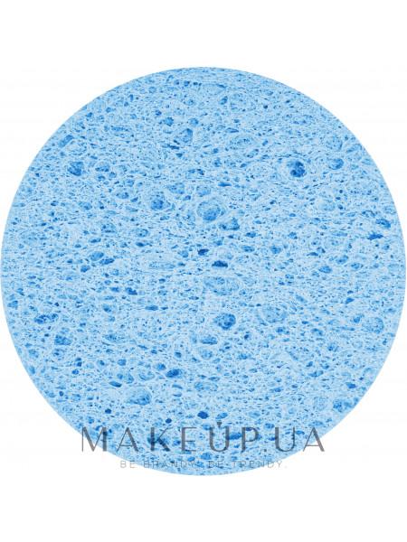 Спонж пористый для умывания, pf-05, голубой